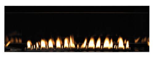 """American Hearth Boulevard Linear 60"""" Se-Through Vent-Free Fireplace"""