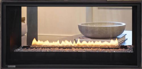 """Montigo Phenom 38"""" See-Through Direct Vent Gas Fireplace"""