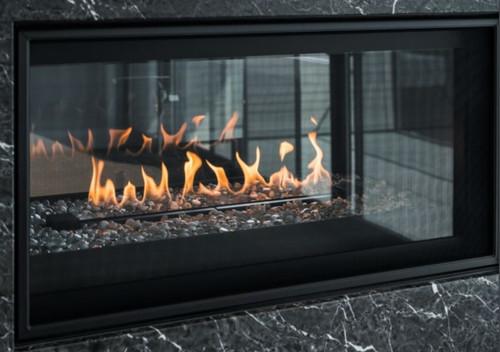 """Montigo Phenom 42"""" IPI See-Through Direct Vent Gas Fireplace"""