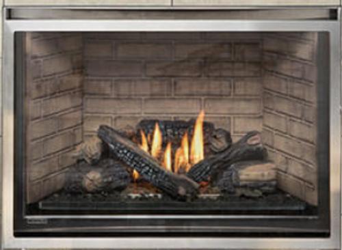 "Montigo Divine 38"" Standing Pilot  Ventless Outdoor Fireplace"