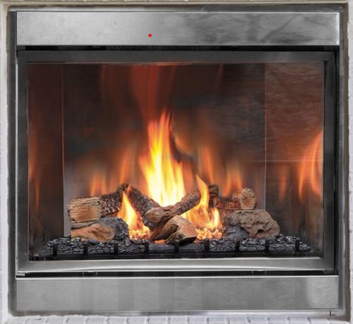 "Montigo Divine 42"" Standing Pilot Ventless Outdoor Fireplace"