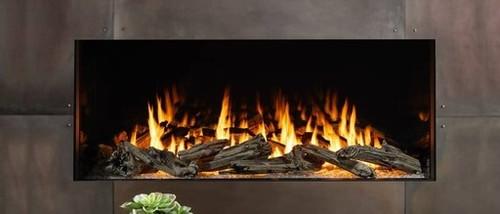 Heat & Glo Foundation Single-Side 4 Gas Fireplace