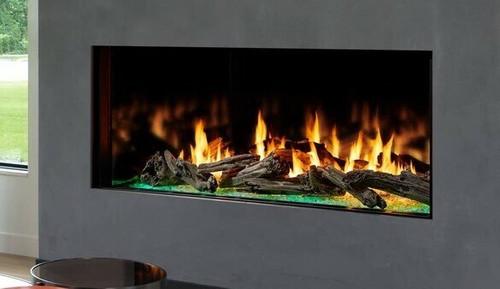Heat & Glo Foundation Single-Side 7 Gas Fireplace