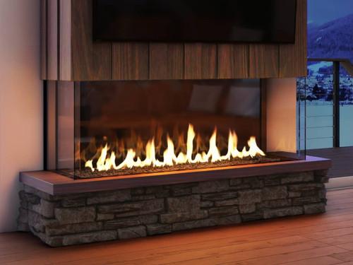 Heat & Glo Foundation Bay 4 Gas Fireplace