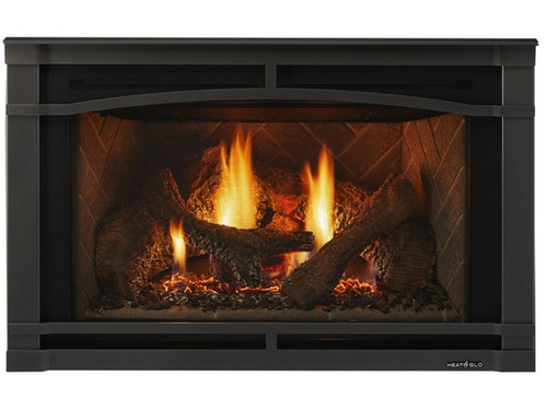 """Heat and Glo Supreme 25"""" Gas Insert"""