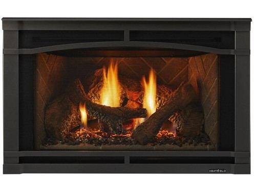 """Heat and Glo Supreme 30"""" Gas Insert"""