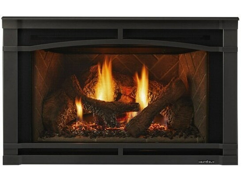 """Heat and Glo Supreme 35"""" Gas Insert"""