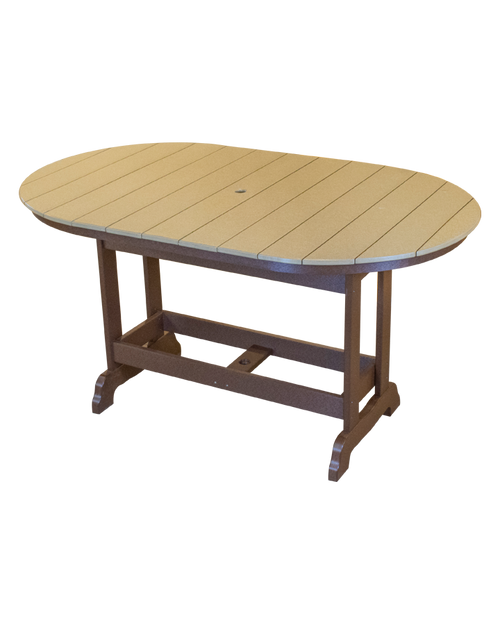 Kanyon Dining Height 6' Oval Table