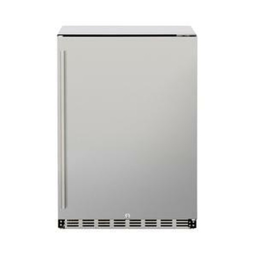 Summerset 5.3c Deluxe Outdoor Rated Fridge Right to Left Opening