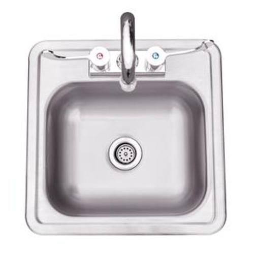 """Summerset 15x15"""" Drop-in Sink"""
