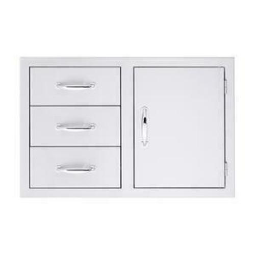 """Summerset 33"""" 3-Drawer & Access Door Combo"""