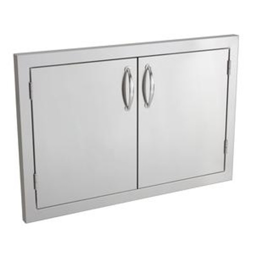 "Summerset 33"" Double Access Door Masonry Frame Return"