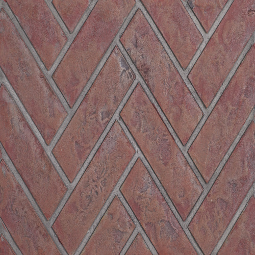 Decorative Brick Panels Old Town Red™ Herringbone for Ascent™ X 36