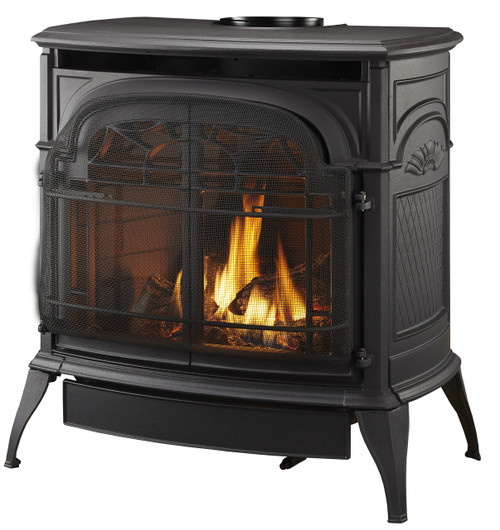 Vermont Casting Stardance IFT Gas Stove, Classic Black