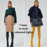 7 ways to wear colored tights