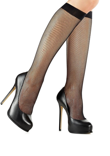 81515f5ab Quality fishnet knee highs - CASTING 032 (also available for darker skin  tone)