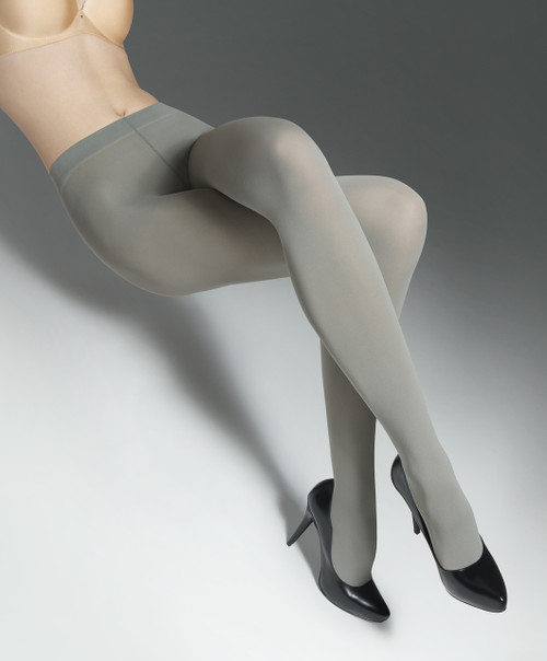 Opaque coloured tights MICRO60 MARILYN grey