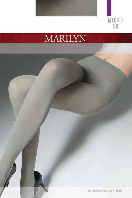 Opaque coloured tights  MICRO60 MARILYN product packaging