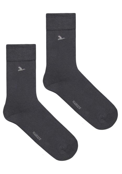 Men's cotton socks  MEN by MARILYN Grey