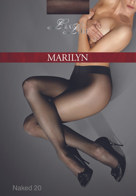 Luxurious sheer to waist tights Exclusive NAKED 20 bt MARILYN LUX LINE