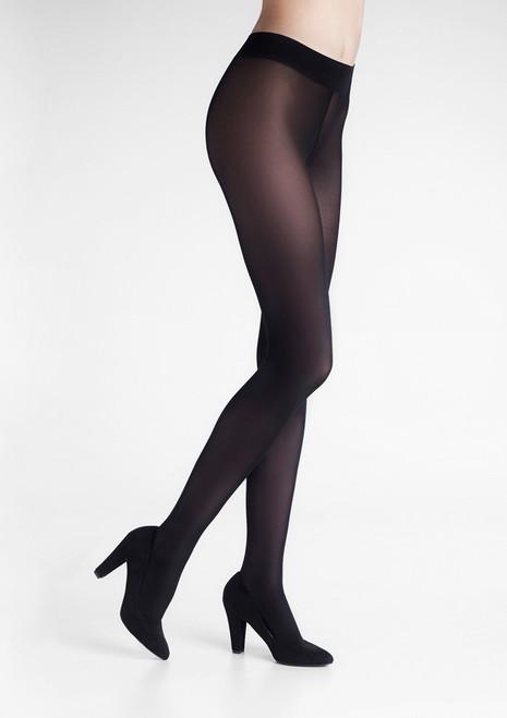 Opaque semi-matte tights TOUCH 40 Black