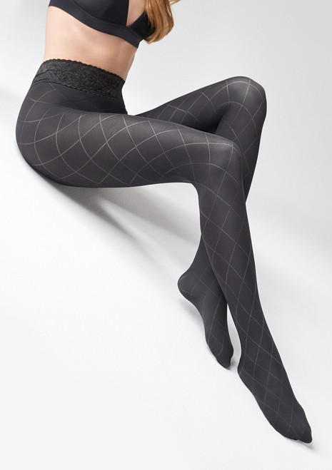 MARILYN fashion patterned tight GRACE N03 FASHION TIGHTS-1