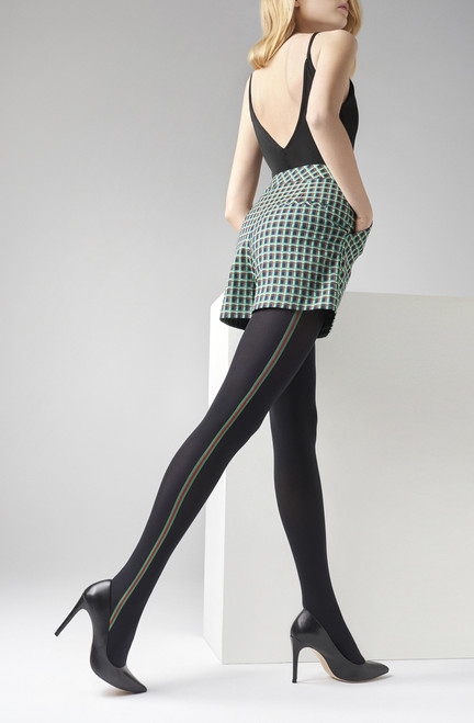 MARILYN fashion patterned tights ALLURE N24