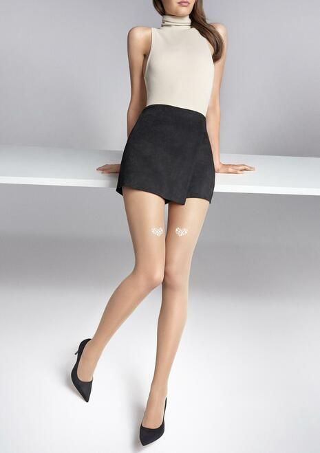 MARILYN women's fashion sheer to waist stockings ALLURE S05