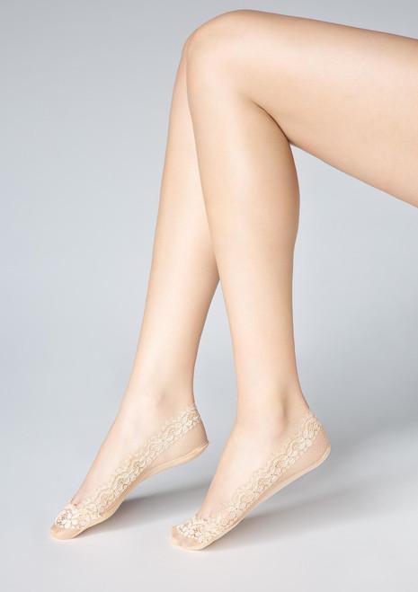 MARILYN lace footies P31 beige