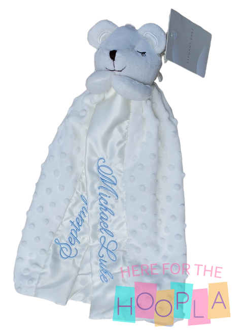 Classic Prayer Bear Security Blankey