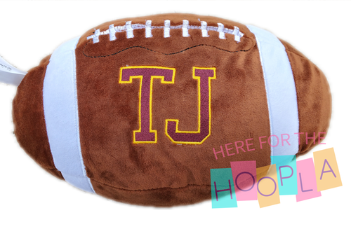 Personalized Stuffed Sports Ball
