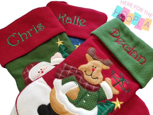 Personalization of Your Own Stocking