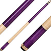 Lucasi Cues - Purple Birdseye and Natural Maple Handle LZC6