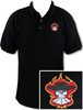 Ozone Billiards Gambling Outlaw Polo Shirt - Black - Free Personalization