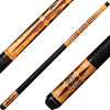 Players Cues - Antique Maple and Cocobolo with Mother of Pearl E2330