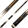 Players Cues - Black and Bocote with Mother of Pearl E2332