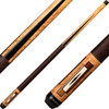 Players Cues - Antique Maple, Cocobolo and Bocote with Black Points E2340