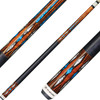 Players Cues - Curly Maple with Cocobolo, Blue and White Recon Graphic G4136