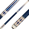 J Pechauer Cues R Series Blue Pearl Points and Diamonds JP14
