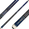 J Pechauer Cues R Series White and Black Points with Blue Pearl JP21
