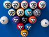 Dynaspheres Pool Balls - Platinum
