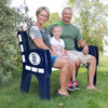 San Diego Padres Outdoor Bench