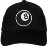 Ozone Billiards 8 Ball Hat - Black - Free Personalization