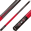 Ozone Cues Junior Series Red Points 52 Inch