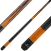 Meucci Cues Grey with Orange Points and Blue and Red Veneers
