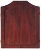 Mahogany Dart Board Cabinet