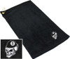 Ozone Billiards 8 Ball Skull Towel - Black - Free Personalization