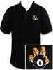 Ozone Billiards 8 Ball Talon Polo Shirt - Black - Free Personalization