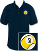 Ozone Billiards 9 Ball Polo Shirt - Navy - Free Personalization