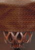 Championship Westex Pool Table Cover 9' Braided Brown